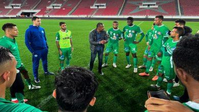 صورة قرار جديد من الشابي بعد نهاية مباراة المغرب التطواني