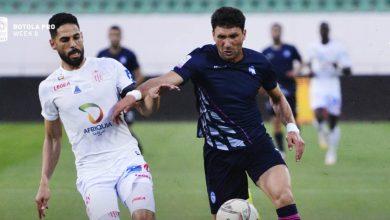 صورة في مباراة البطائق الحمراء.. حسنية أكادير يتفوق على وادي زم بثلاثية -فيديو