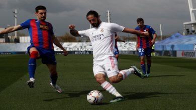 صورة ريال مدريد ينتصر على إيبار بثنائية ويُشدد الخناق على أتلتيكو مدريد وبرشلونة- فيديو