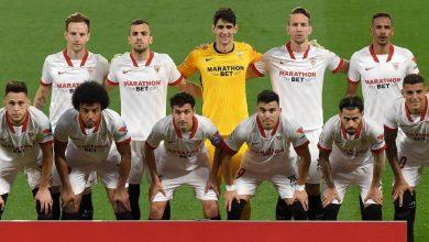صورة ملخص مباراة إشبيلية وأتلتيكو مدريد