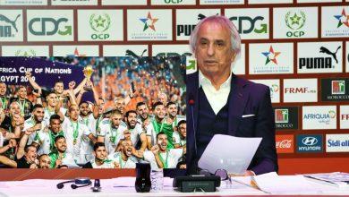 صورة خليلوزيتش يثير الجدل بتصريح عن المغاربة وفوز الجزائر بأمم إفريقيا