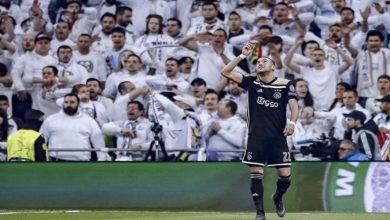 """صورة زياش أمام ريال مدريد بذكريات موسمه التاريخي مع""""أياكس"""" في أبطال أوروبا"""