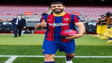 صورة أغويرو يعلق على انتقاله لبرشلونة ويكشف عن مستقبل ميسي