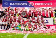 صورة احتفاءا بالمشجعين.. أياكس يقرر إذابة درع الدوري الهولندي -فيديو
