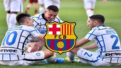 صورة برشلونة يرغب في استغلال أزمة إنتر والتعاقد مع نجم الفريق
