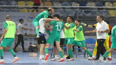 صورة المنتخب المغربي ينتصر برباعية على مصر ويحقق لقب البطولة العربية لكرة القدم داخل الصالات