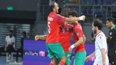صورة كأس العرب لكرة القدم داخل الصالات.. المغرب ينتصر بسداسية على البحرين ويضرب موعدا مع مصر في النهائي