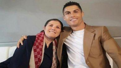 """صورة والدة رونالدو: """"سأحاول إقناع كريستيانو بالعودة إلى فريقه الأسبق"""""""