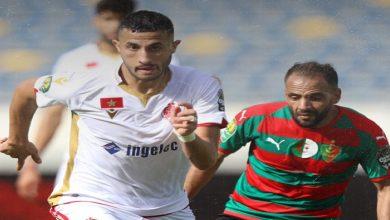 صورة التعادل السلبي يحسم الشوط الأول من مباراة الوداد ومولودية الجزائر