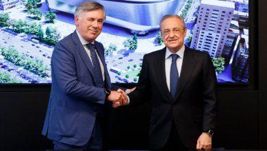 صورة أنشيلوتي يطالب ريال مدريد بإعادة لاعبه السابق