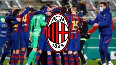 صورة ميلان يبدأ مفاوضات تعاقده مع نجم برشلونة