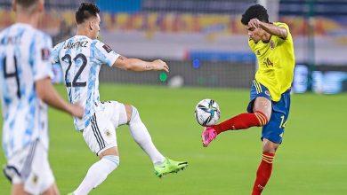 """صورة تصفيات كأس العالم.. كولومبيا تفرض التعادل على الأرجنتين في """"آخر الأنفاس""""- فيديو"""