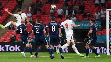 صورة إنجلترا تسقط في فخ التعادل السلبي أمام إسكتلندا في اليورو -فيديو