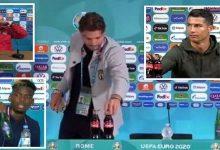 """صورة نجم المنتخب الإيطالي يكرر واقعة رونالدو وبوغبا.. و""""اليويفا"""" يصدر قرارا صارما- فيديو"""