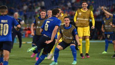 """صورة إيطاليا أول المتأهلين للدور الثاني من """"اليورو"""" بعد الفوز على سويسرا بثلاثية -فيديو"""