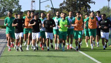 صورة في غياب لاعبي الرجاء والوداد.. المنتخب المغربي يواصل استعداداته لودية غانا