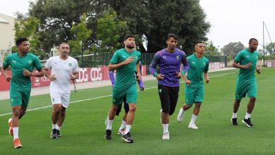 صورة لاعبو الرجاء والوداد يغادرون معسكر المنتخب المغربي