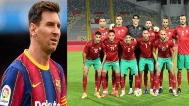 صورة نجم المنتخب المغربي يعلن رغبته في مبادلة قميصه مع ميسي