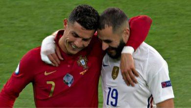 صورة بنزيما يكشف تفاصيل الحوار بينه وبين رونالدو