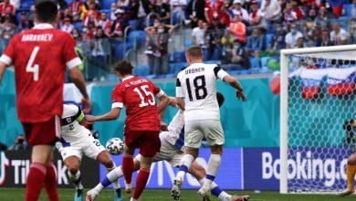 """صورة روسيا تنتصر على فنلندا وتعزز حظوظها في العبور إلى الدور القادم من """"اليورو""""- فيديو"""