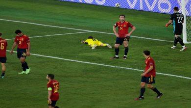 صورة يورو 2020.. إسبانيا تفشل في الانتصار على السويد وتكتفي بالتعادل بدون أهداف-فيديو