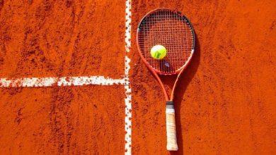 صورة اعتقال لاعبة تنس في ملاعب رولان غاروس