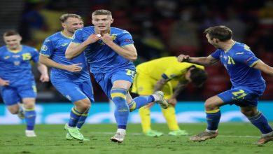 صورة أوكرانيا تضرب موعدا مع إنجلترا في ربع نهائي اليورو بعد التفوق على السويد -فيديو
