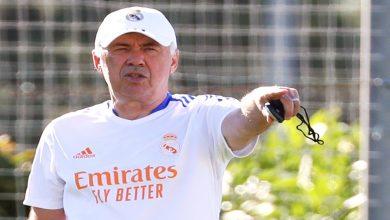 صورة مدرب ريال مدريد يطلب التعاقد مع نجم عربي