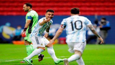 """صورة بركلات الترجيح.. الأرجنتين تتأهل إلى نهائي """"كوبا أمريكا"""" على حساب كولومبيا- فيديو"""