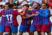 صورة في مباراة عرفت تألق ديباي.. برشلونة يتفوق على شتوتغارت بثلاثية -فيديو