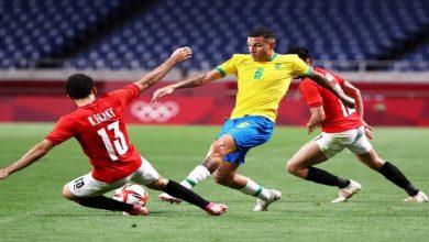 صورة المنتخب المصري يودع أولمبياد طوكيو على يد البرازيل -فيديو