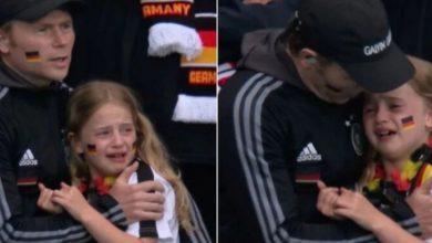 """صورة حملة تبرعات تعويضا عن فضيحة """"الفتاة الألمانية الباكية"""""""