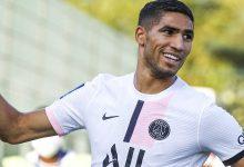 صورة حكيمي يعلق على هدفه الأول مع باريس سان جيرمان
