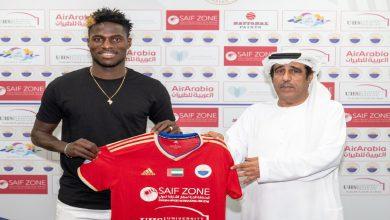 صورة رسميا.. الشارقة الإماراتي يقدم لاعبه مالونغو