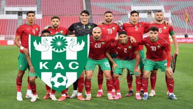 """صورة نجم المنتخب المغربي يتحسر على سقوط """"الكاك"""" لقسم الهواة"""