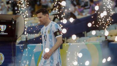 """صورة منتصرا على البرازيل.. الأرجنتين بطلا لـ""""كوبا أمريكا""""- فيديو"""