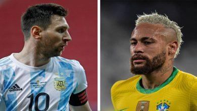 صورة التشكيلة المتوقعة لملحمة البرازيل والأرجنتين في نهائي كوبا أمريكا