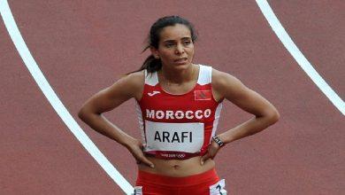 صورة رباب عرافي تودع أولمبياد طوكيو من نصف نهائي 800 م