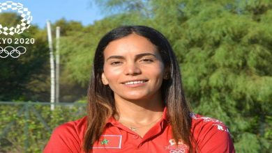 صورة بعد تأهلها لنصف نهائي سباق 800 م.. العرافي توجه رسالة للجمهور المغربي