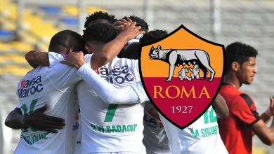 """صورة بملعب """"الأولمبيكو"""".. حضور كبير لجماهير الرجاء في ودية روما"""