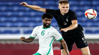 صورة السعودية تنهزم بصعوبة أمام ألمانيا وتودع أولمبياد طوكيو -فيديو