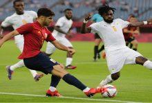 صورة الكوت ديفوار تفرط في تأهل قريب لدور النصف من الأولمبياد وتخسر أمام إسبانيا -فيديو