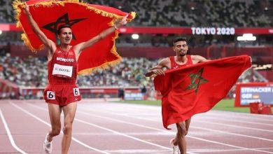 صورة تيندوفت يوجه رسالة خاصة للبقالي بعد التتويج الأولمبي