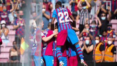 صورة قبل ساعات من غلاق الميركاتو.. برشلونة يعلن رحيل لاعبين جديدين