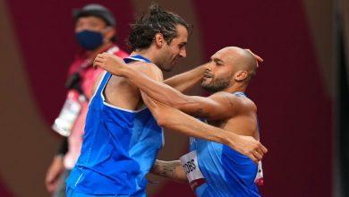 صورة أولمبياد طوكيو.. إيطاليا تخلق المفاجأة في سباق 100 متر رجال