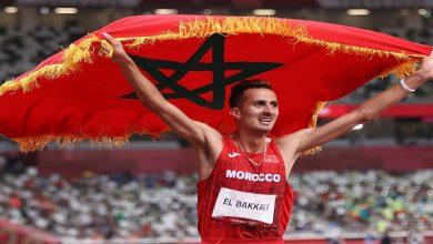 صورة أول تعليق للبقالي بعد إحرازه لذهبية 3000 متر موانع في أولمبياد طوكيو