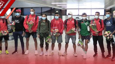 """صورة العداؤون المغاربة بعد المشاركة في أولمبياد طوكيو: """"البقالي شرفنا جميعا ورفع راية المغرب في اليابان"""" -فيديو"""