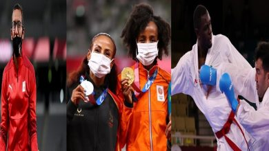 """صورة حصاد """"وفير"""" للعرب في اليوم ما قبل الأخير لأولمبياد طوكيو"""