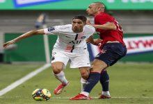 """صورة في أول مباراة رسمية مع """"البي إس جي"""".. حكيمي يخسر لقب السوبر الفرنسي أمام ليل -فيديو"""