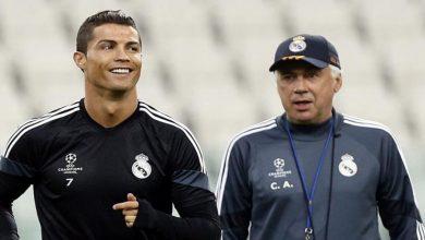 صورة أنشلوتي يحسم في إمكانية عودة رونالدو إلى ريال مدريد